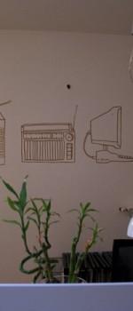 Decorazioni per Arkhitettando Arredamenti,Lucca.