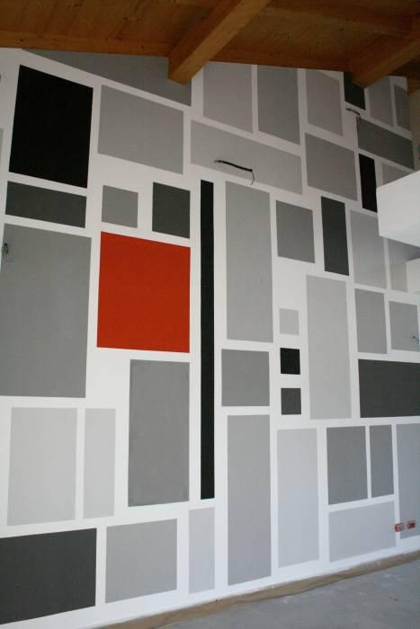 Decorazione Geometrica Di Segno Studio Creativo