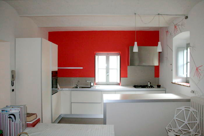 Decorazioni contemporanee per casa campagna siena di segno studio creativo - Colori per interno casa ...