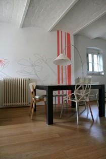 Decorazione contemporanee per casa campagna,Siena.