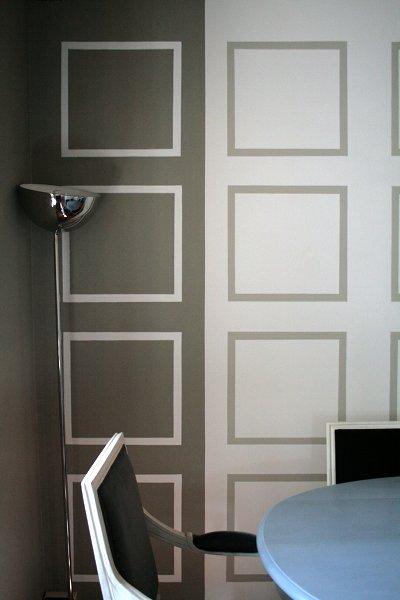 Disegni geometrici su pareti for Decorazioni pareti