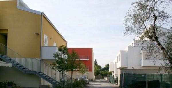 progettazione del colore centro residenziale