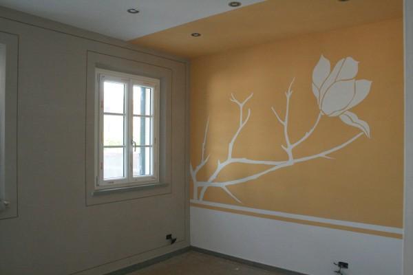 Germoglio.Decorazione murale.