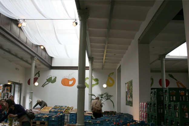 "Decorazione murale ""Légumes"""