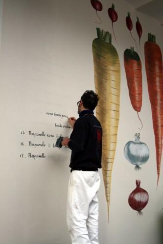 """Decorazione murale """"Vilmorin"""""""