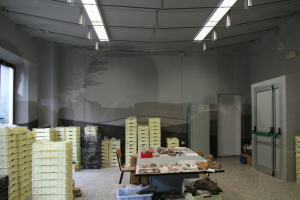 Scenografie murali Museo Porcari